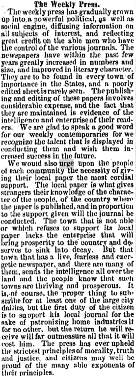 Red Bank Register Clipping